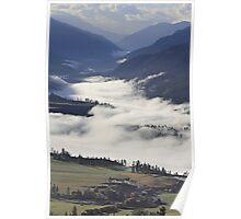 Fog on the Fraser River Poster