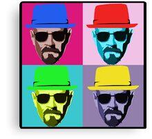 Heisenberg, Walter White pop art Canvas Print
