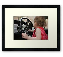 Annabelle Sure Loves to Drive - series [6] Framed Print