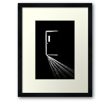 In the Light of Darkness Framed Print