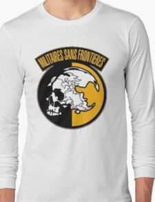 Metal Gear Solid -  Militaires Sans Frontieres (MSF) Long Sleeve T-Shirt