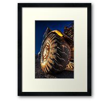 Now Thats A Tire Framed Print