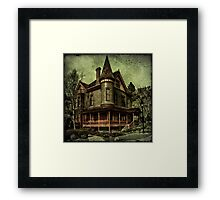 Californian Victorian Framed Print