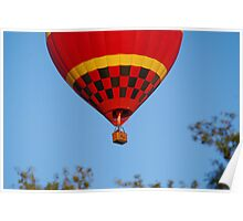 Big Red Balloon Poster