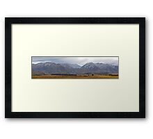 Rhobord Downs Conservation New Zealand Framed Print