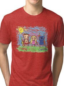 Chappie Family Tri-blend T-Shirt