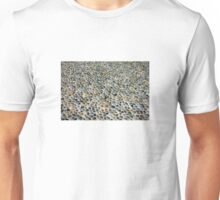 Pebbles ground pavement texture in Milano, ITALY Unisex T-Shirt