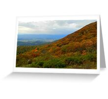 The Autumn Countryside - Virginia    ^ Greeting Card