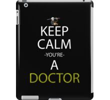 one piece keep calm you're a doctor anime manga shirt iPad Case/Skin