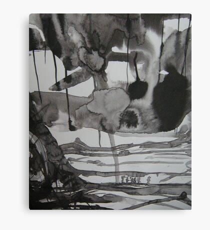 dispersing of souls..... Canvas Print