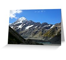 Mt Cook Summit Greeting Card