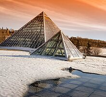 Muttart Pyramids II by JCBimages