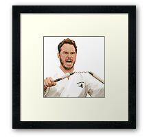 Johnny Karate Framed Print