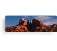 Cathedral Rock - Sedona (panoramic)  Canvas Print