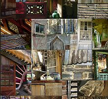 Patchwork of Walls and Windows by Penny Alexander