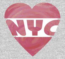 I Heart NYC One Piece - Short Sleeve