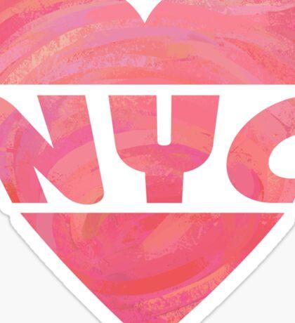 I Heart NYC Sticker