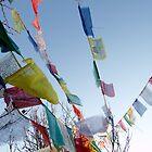 Prayer Flags by AnastasiART