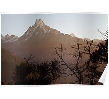 Himalaya Sunrise Poster