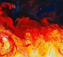 abstract clouds 11 by pracha