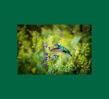 My Secret Garden, Green Violet Eared Hummingbird. Unisex T-Shirt