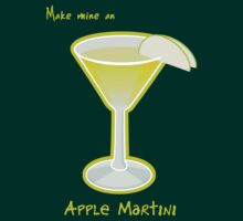 Make mine an Apple Martini by Joumana Medlej