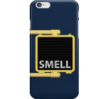 New York Crosswalk Sign Smell iPhone Case/Skin