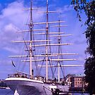 Stockholm Harbour, Tall ship. Sweden. by johnrf