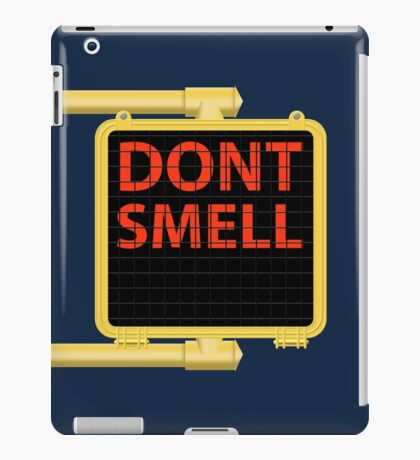 New York Crosswalk Sign Don't Smell iPad Case/Skin