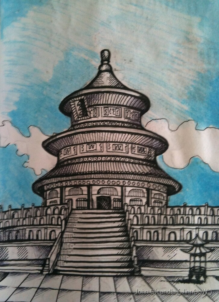 Temple Of Heaven, Beijing    by John Dicandia ( JinnDoW )