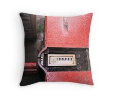 Demolition of Knowsley Road St Helens RLFC Throw Pillow