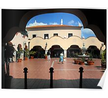 Tenerife Market Place Poster