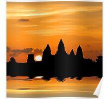 Dreaming of Angkor Watt Poster