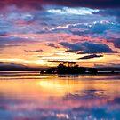 Reflecting Sunset by Mathew Courtney