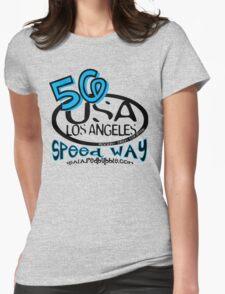 usa la tshirt by rogers bros Womens Fitted T-Shirt