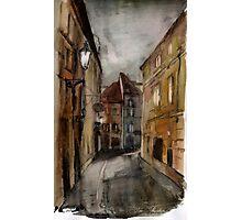 Prague street Photographic Print