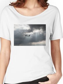 Sunlit Avro Vulcan Women's Relaxed Fit T-Shirt