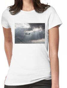 Sunlit Avro Vulcan Womens Fitted T-Shirt