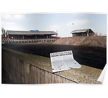 Demolition of Knowsley Road St Helens RLFC Poster
