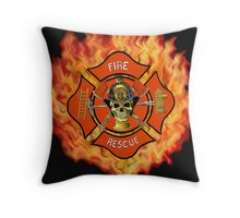 Hard Knock  Throw Pillow