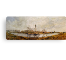 Church of the Intercession on the Nerl Canvas Print