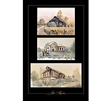 Russian village Photographic Print