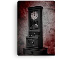 The Old Clock Canvas Print