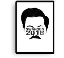 Swanson 2016 Distressed Canvas Print