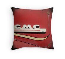 GMC Firetruck Detail Throw Pillow
