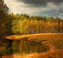 Autumn landscape by Julia Shepeleva