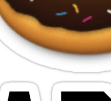 I Donut Care Funny/Trendy/Girly/Hipster Emoji Meme  Sticker
