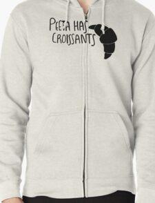 Peeta Has Croissants (Black Design) T-Shirt