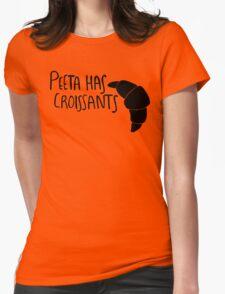 Peeta Has Croissants - Black T-Shirt