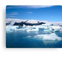 Jokulsarlon Lagoon - Iceland Canvas Print
